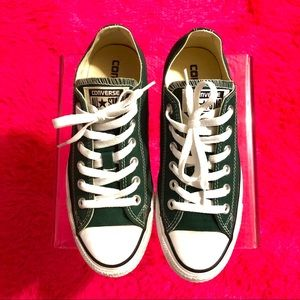 Converse All Star Low Top Olive Green Ox